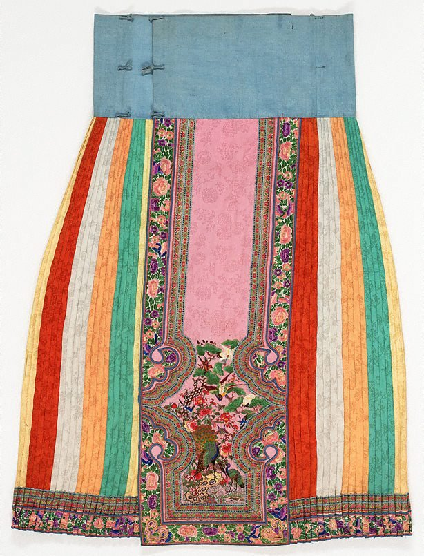 An image of Embroidered skirt