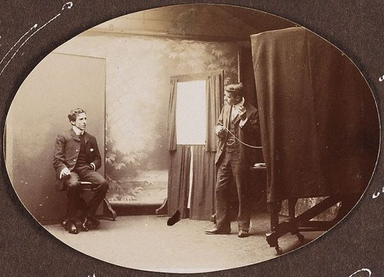 Alternate image of Now and Then (Freeman's Studio) by Harold Cazneaux