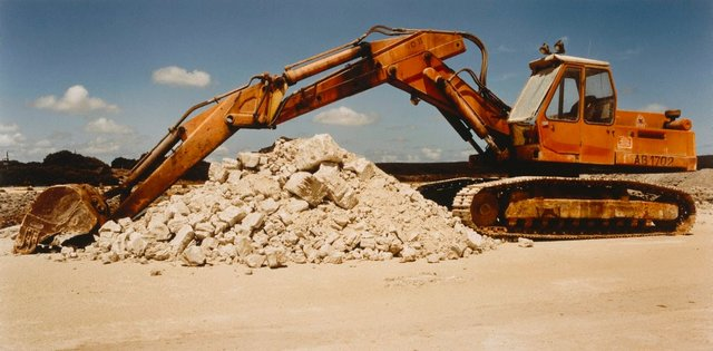 An image of Gypsum before crushing