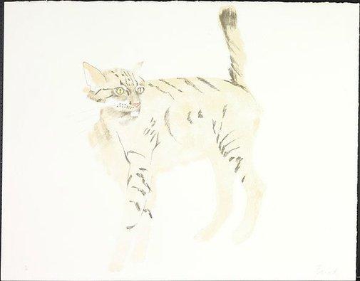 An image of Bobcat by Dame Elisabeth Frink