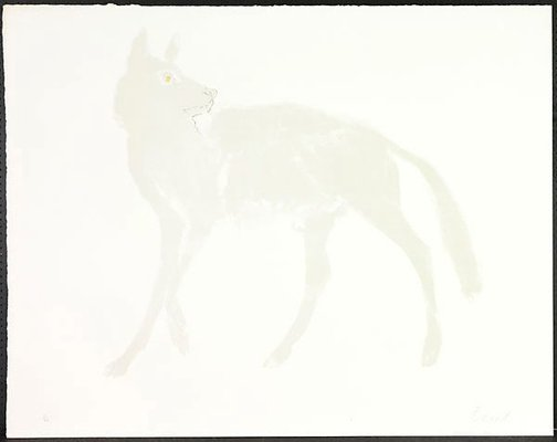An image of Wolf by Dame Elisabeth Frink
