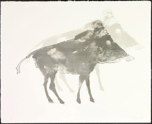 An image of Boar by Dame Elisabeth Frink