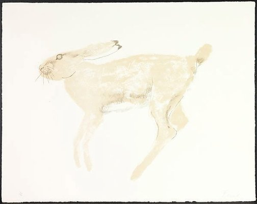 An image of Hare by Dame Elisabeth Frink