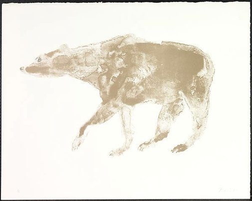 An image of Bear by Dame Elisabeth Frink
