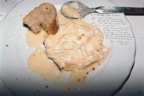 An image of The St Marcillin Cheese Incident by William Yang