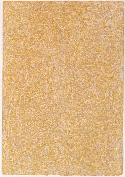 An image of Untitled (pale yellow vertical) by Allan Mitelman