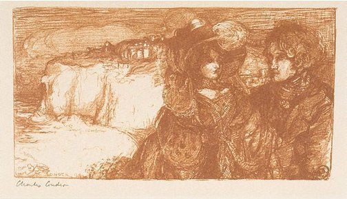 An image of Béatrix et Calyste by Charles Conder