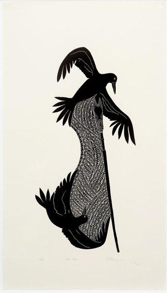 An image of Gir kep (bird arrow) by Daniel O'Shane