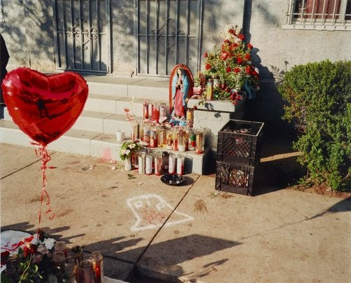 An image of The Bloods, Memorial by Catherine Opie