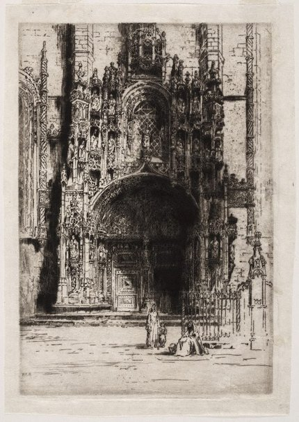 An image of Belem doorway by Andrew Fairbairn Affleck