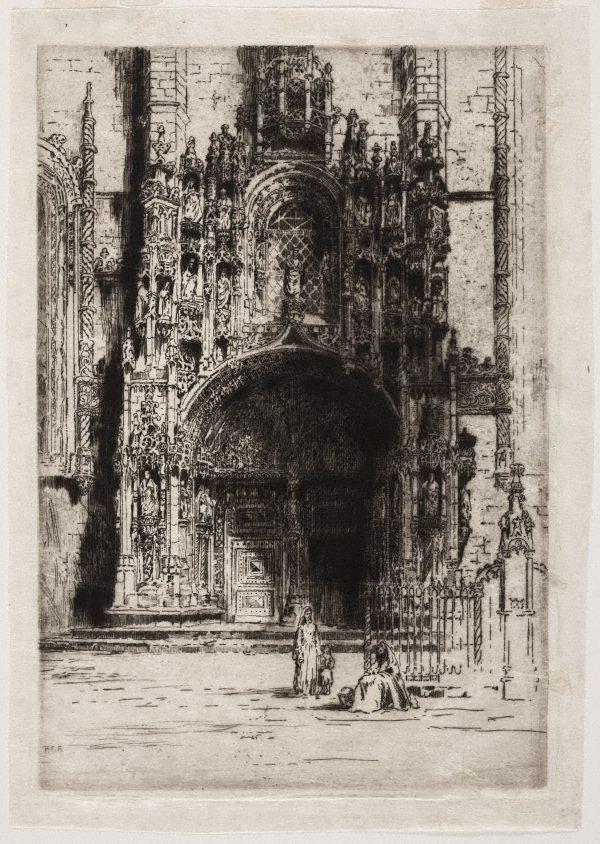An image of Belem doorway