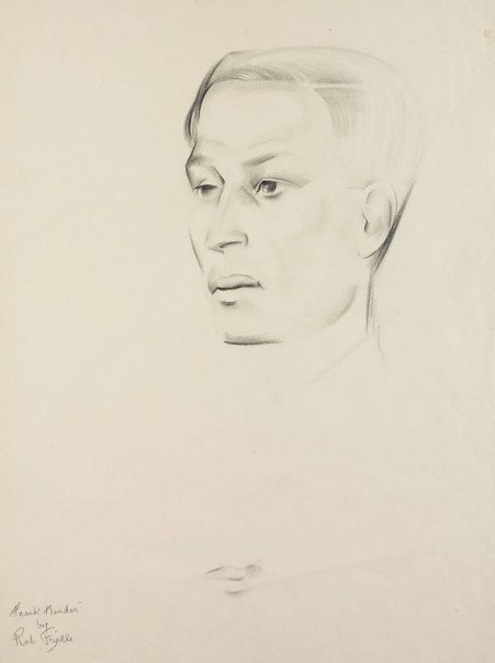 An image of Head of a man by Rah Fizelle