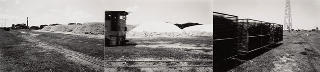 AGNSW collection David Stephenson Cane trains, Victoria Mill, North Queensland (1983, printed 1984) 332.1987