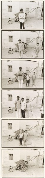 An image of Old Delhi boys by Jon Rhodes