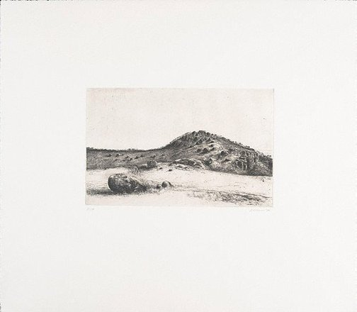 An image of You Yangs landscape by John Scurry