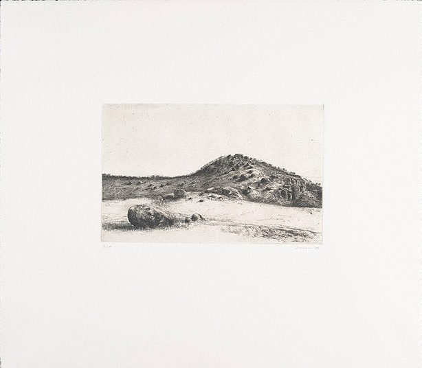 An image of You Yangs landscape