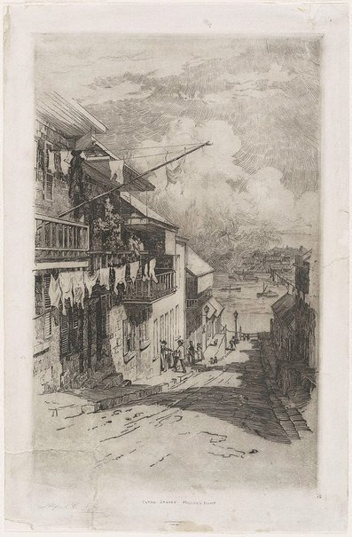 An image of Clyde Street, Miller's Pt. by Alfred Coffey