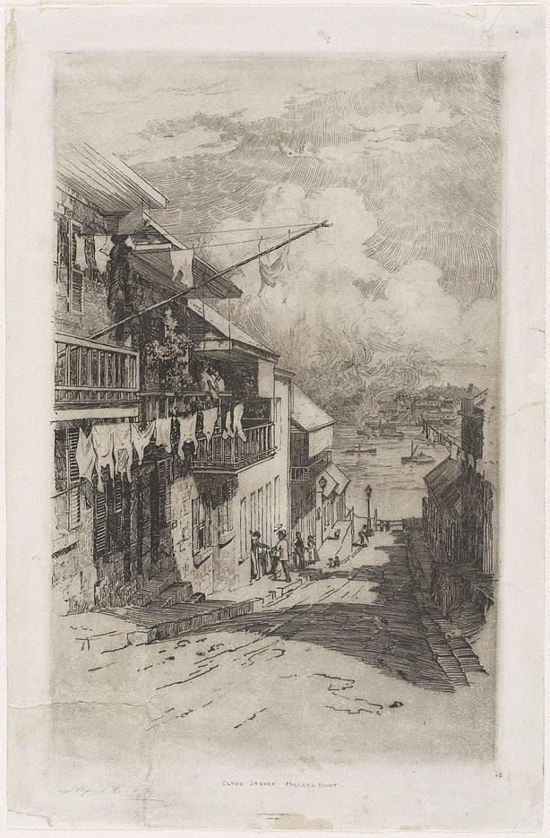 An image of Clyde Street, Miller's Pt.