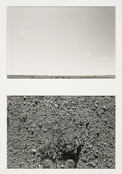 An image of Horizons #1, Outside Packsaddle, New South Wales by Lynn Silverman