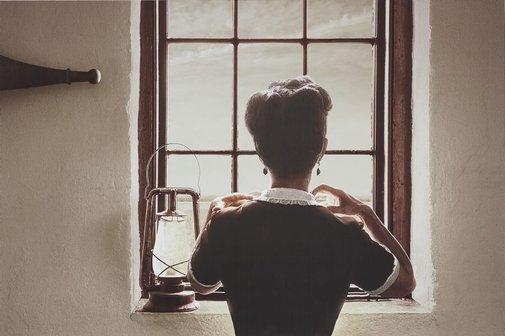 An image of Spanish window by Tracey Moffatt