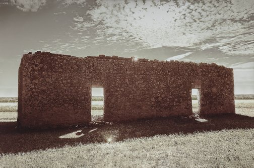 An image of Spirit house by Tracey Moffatt
