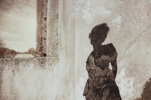 An image of Shadow dream by Tracey Moffatt