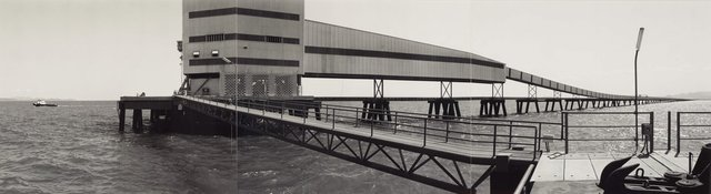 Offshore docking facility, Lucinda, (1983, printed 1984) by David Stephenson