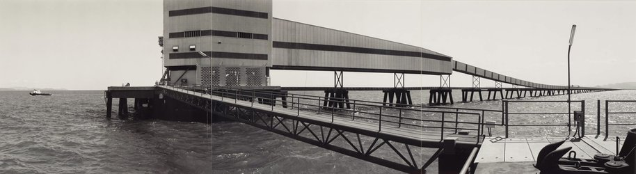 AGNSW collection David Stephenson Offshore docking facility, Lucinda (1983, printed 1984) 336.1987
