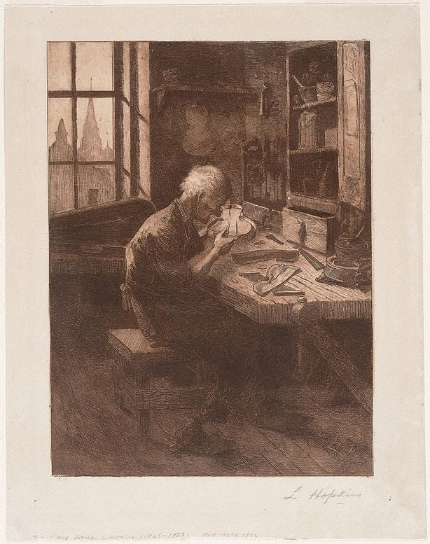 An image of The fiddle maker (doctor)