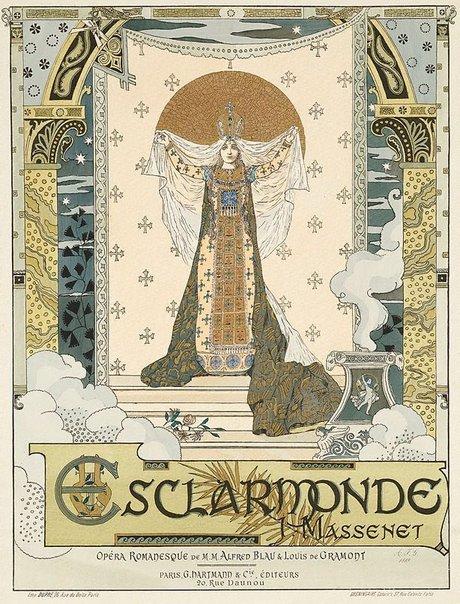 An image of Esclarmonde by Auguste-Francois Gorguet, Gréningaire