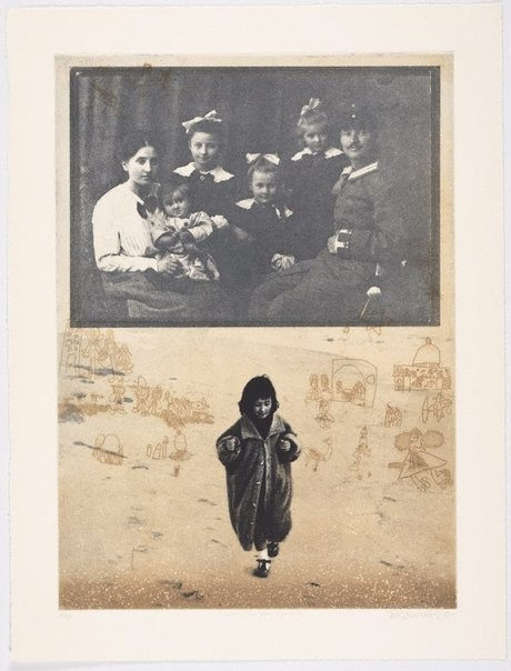 An image of Aya and great grandparents by Jörg Schmeisser