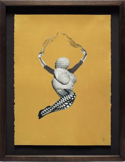 AGNSW collection Deborah Kelly Venus variations #10 (2015) 337.2016