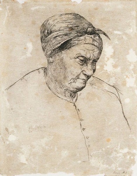 An image of Breton peasant by E.L. Montefiore