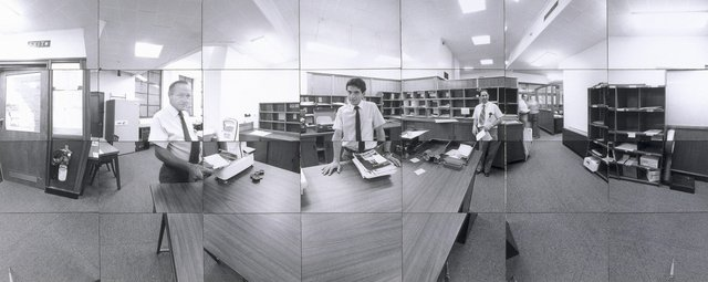 An image of Company time - company space (Mail room CSR head office, Sydney)