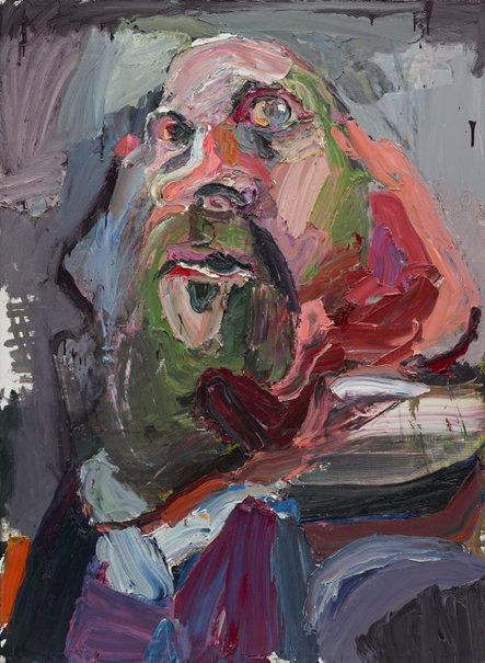 An image of Self portrait, the executioner by Ben Quilty