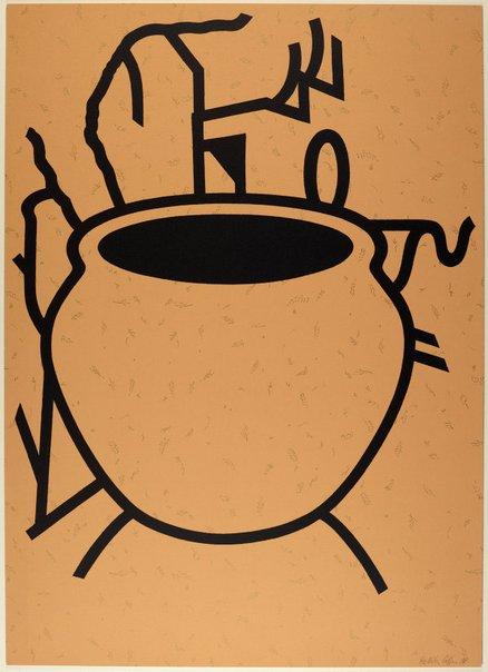 An image of Fern pot by Patrick Caulfield