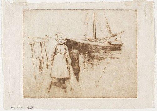 An image of The Dutch girl by Henri van Raalte