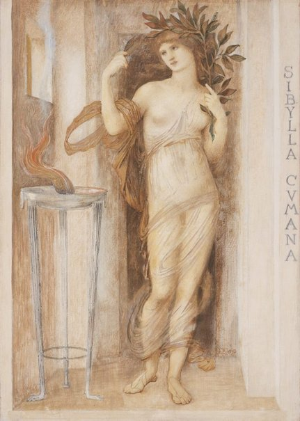 An image of Sibylla Cumana by Sir Edward Coley Burne-Jones