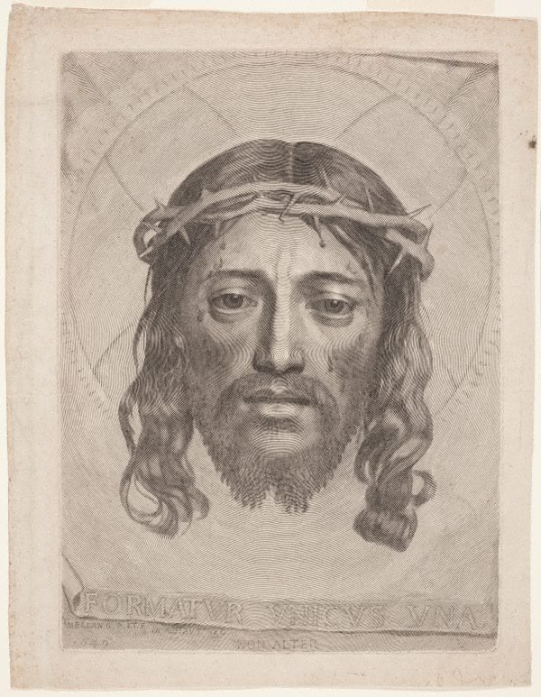 An image of The veil of Saint Veronica