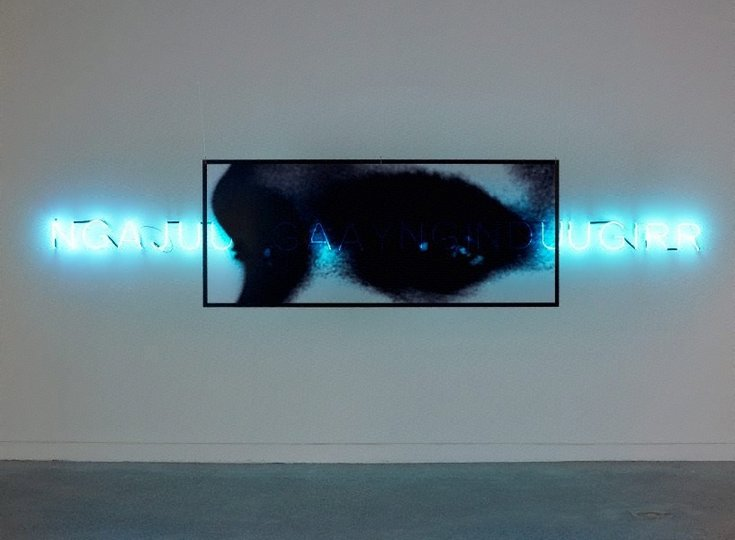 AGNSW collection Brook Andrew Ngajuu Ngaay Nginduugirr (I see you) (1998) 340.2007