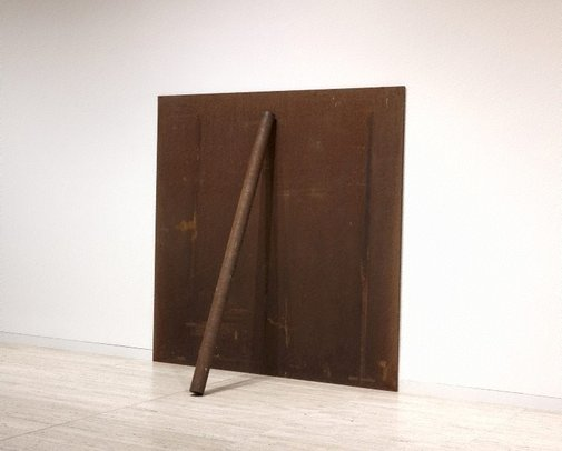 An image of Plate pole prop by Richard Serra