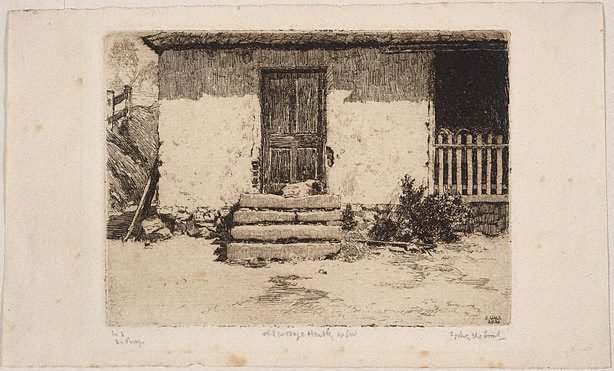 An image of Old cottage, Hartley