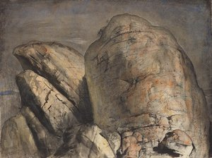 The summit, Mt Wellington II, 1973 by Lloyd Rees