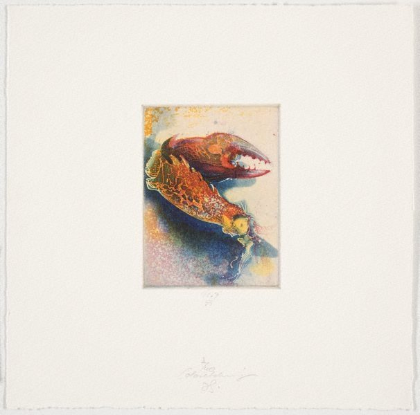 An image of Colour etching