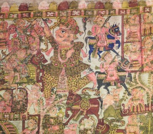 An image of Pabuji phad by