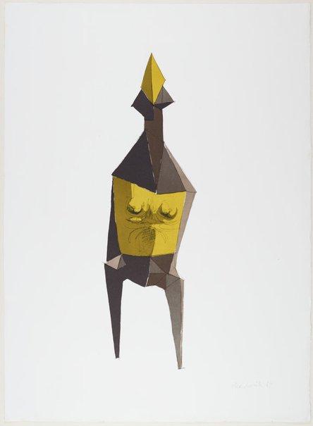 An image of Standing figure by Lynn Chadwick CBE