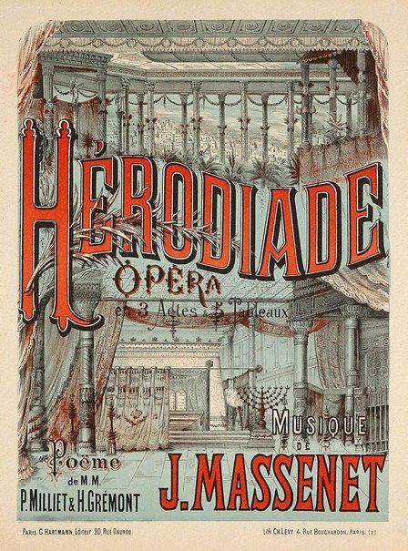 An image of Hérodiade by Charles Lévy
