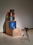 Alternate image of Kaldor candle by Nam June Paik