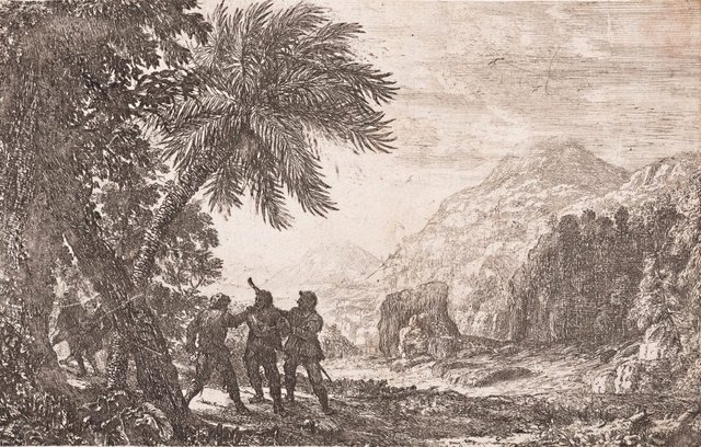 An image of Landscape with brigands