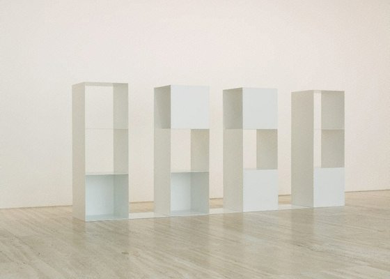 Alternate image of Three-part variations on three different kinds of cubes - elements for serial projects: 2 2 3 (4 parts) by Sol LeWitt